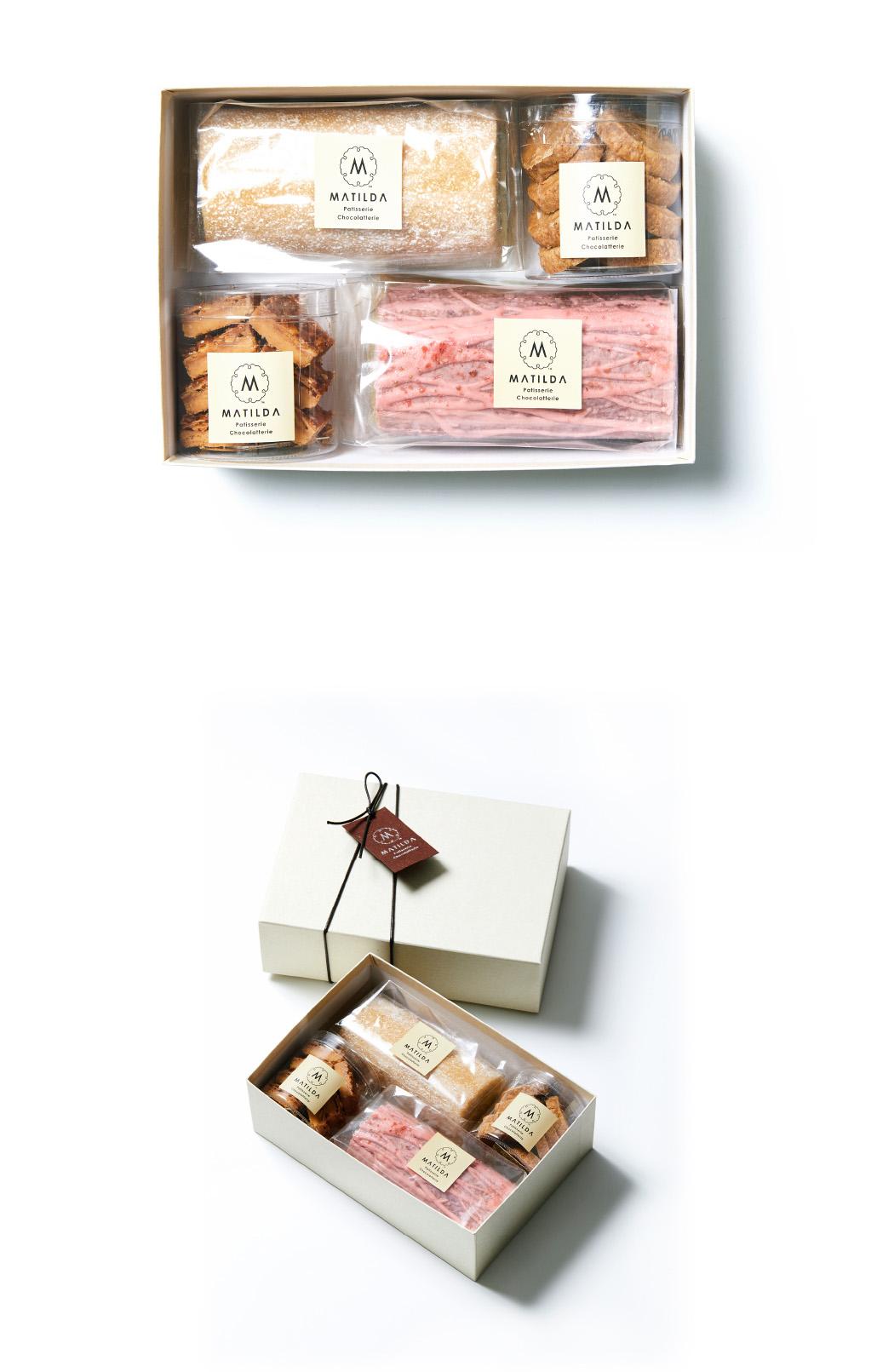焼き菓子6個入りギフトBOX