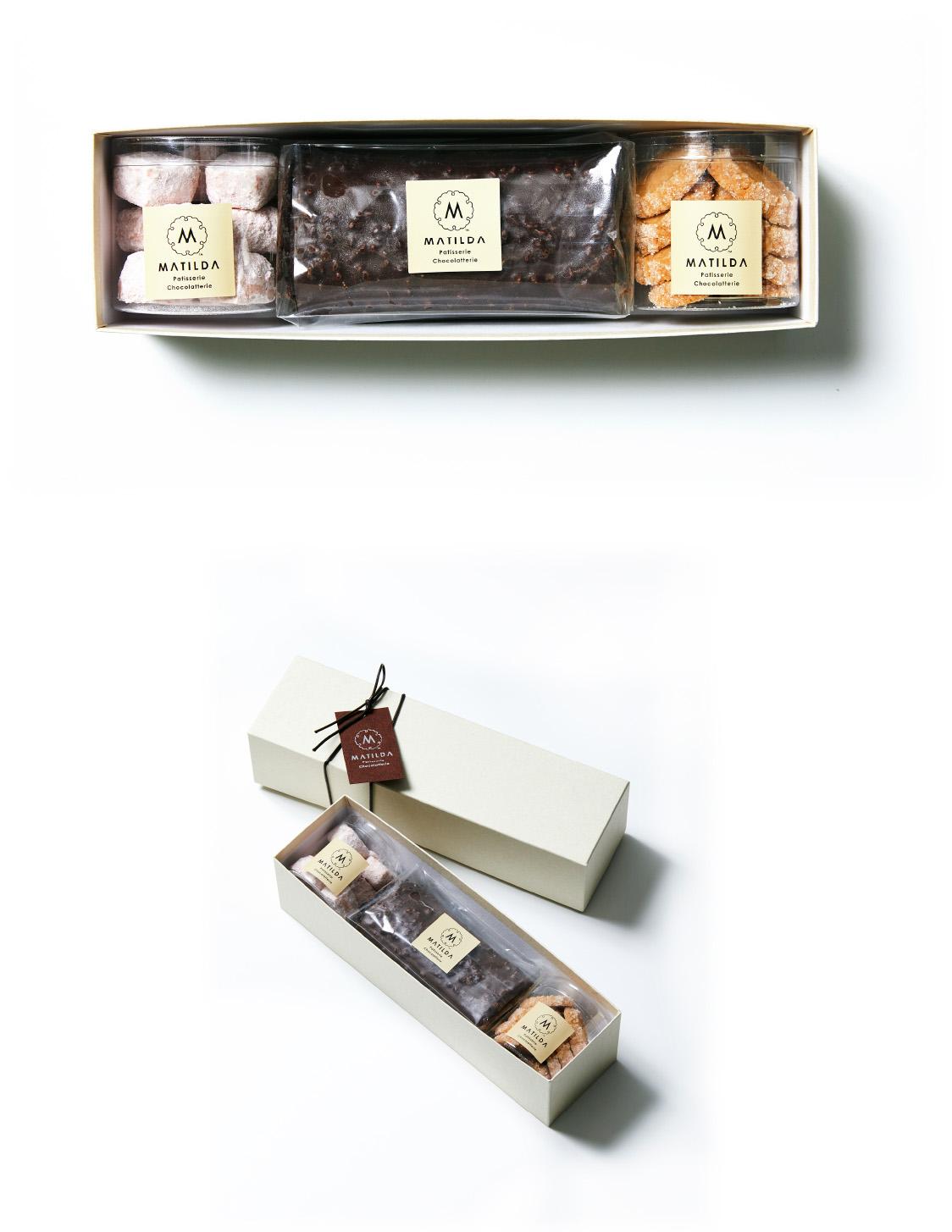 焼き菓子4個入りギフトBOX
